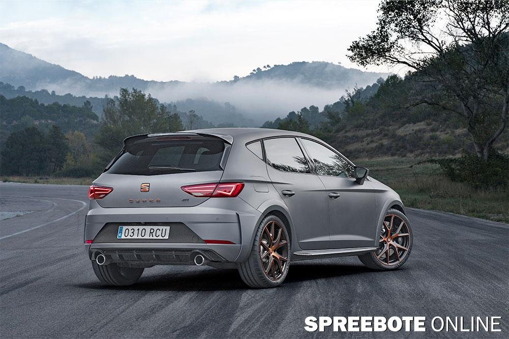 der neue seat leon cupra r spreebote online. Black Bedroom Furniture Sets. Home Design Ideas