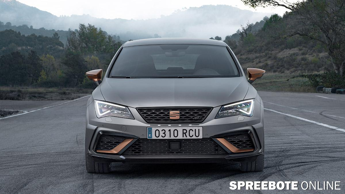 der neue seat leon cupra r. Black Bedroom Furniture Sets. Home Design Ideas