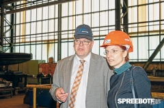 Ministerbesuch bei Reuther